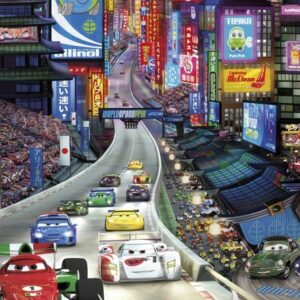 Papel Parede Cars Tokyo