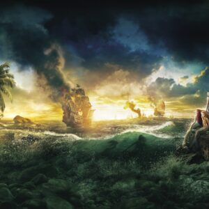 Papel Parede Pirates of the Caribbean