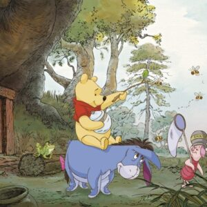 Papel Parede Pooh's House 4-413