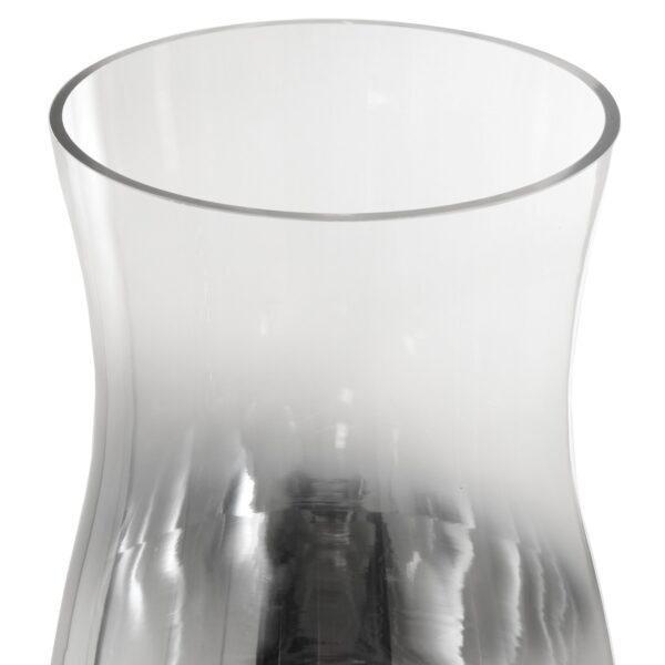 Jarro de Cristal Transparente/Prata
