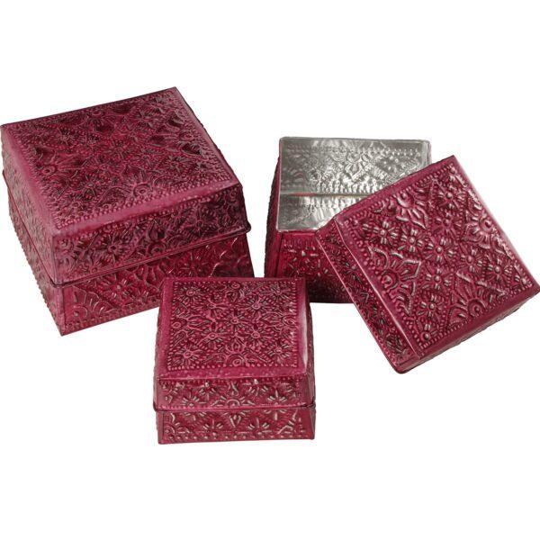 Conjunto 3 Caixas Latão