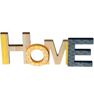 """Letras """"Home"""" 34629"""