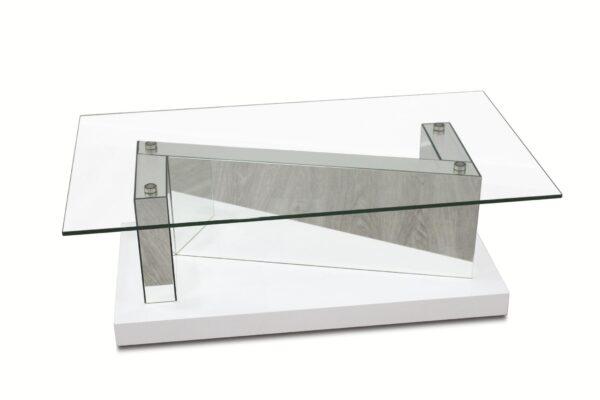 Mesa de centro Z Tampo/vidro