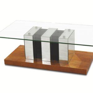 Mesa de centro Xana Tampo de vidro
