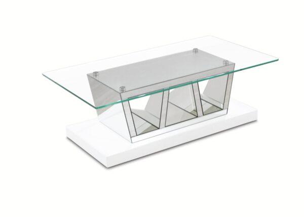 Mesa de centro Porto Tampo de vidro