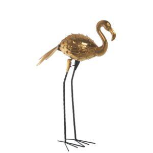Figura Flamengo Metal Dourado