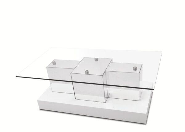 Mesa de Centro Legos T/vidro