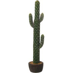 Cactus Artificial Acrílico C/vaso Cerâmica 29980