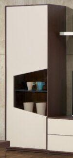 Vitrine 1 porta de vidro