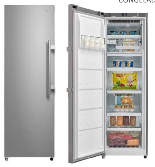 Congelador Vertical Midea MU338A2