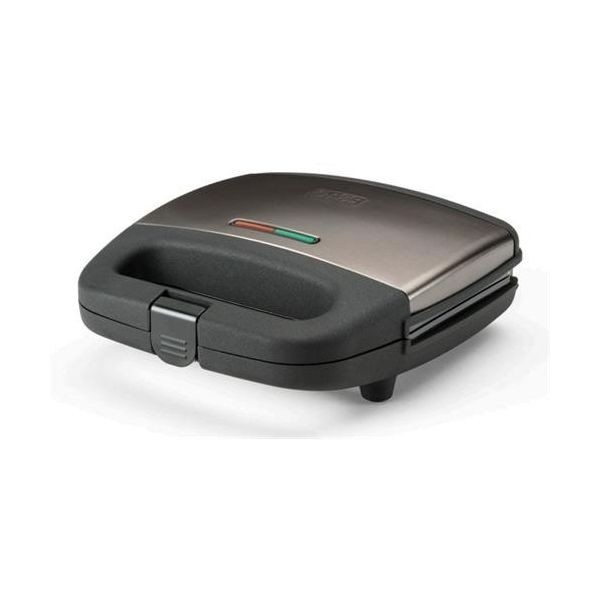 Black & Decker Sandwicheira BXSA-751-E Inox - 750w