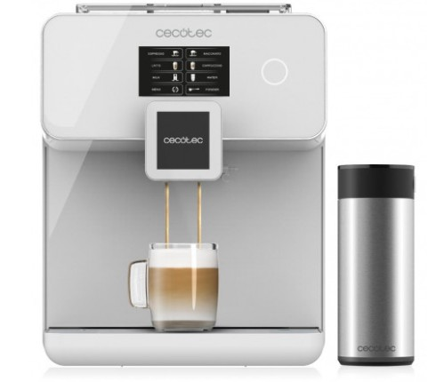 Máquina de café Cecotec Power Matic-ccia 8000 touch bianca
