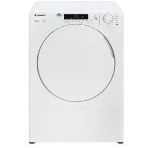 Máquina de secar roupa candy CSV 9DF 9 kg - Exaustão - Branco