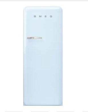 Frigorífico SMEG Anni 50 FAB28RPB3 (Estático - 153 cm - 270 L - Azul)