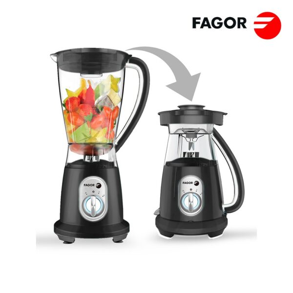 Liquidificador Fagor 600W Black