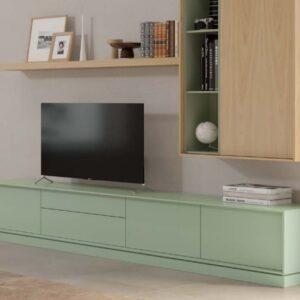 Móvel tv Fénix 3 portas e 2 gavetas