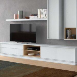 Móvel tv 2 gavetas, 1 prateleira e 2 portas
