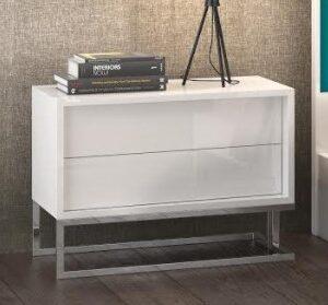 Mesa de cabeceira 2 gavetas