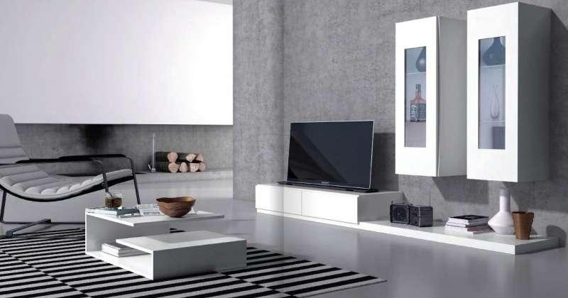 Sala de estar móvel tv